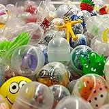 German Trendseller® - 16 x Capsules Surprise Avec jouet à l'intérieur┃ Party Loot ┃ enfants ┃ mélange coloré ┃ Party