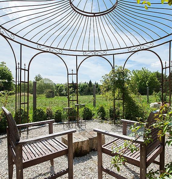 Eleo Florenz - Cenador redondo para rosas, diámetro de 3, 7 metros ...
