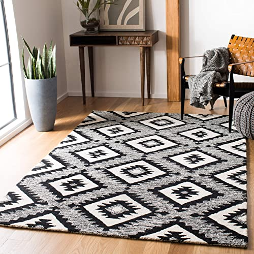 Safavieh Aspen Collection APN813Z Handmade Wool Area Rug