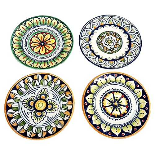 CERAMICHE Du0027ARTE PARRINI - Italian Ceramic Art Set Decorative Tile Round Plates Pottery Decorated  sc 1 st  Amazon.com & Amazon.com: CERAMICHE Du0027ARTE PARRINI - Italian Ceramic Art Set ...