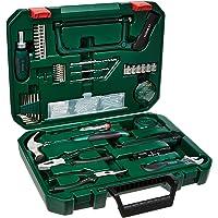 Bosch 2607017372-000, Kit com Ferramentas Manuais, Verde, 108 Peças