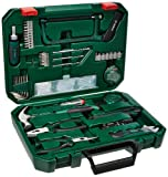 Bosch All-in-One  Metal 108 Piece Hand Tool Kit (Silver/Black/Green)