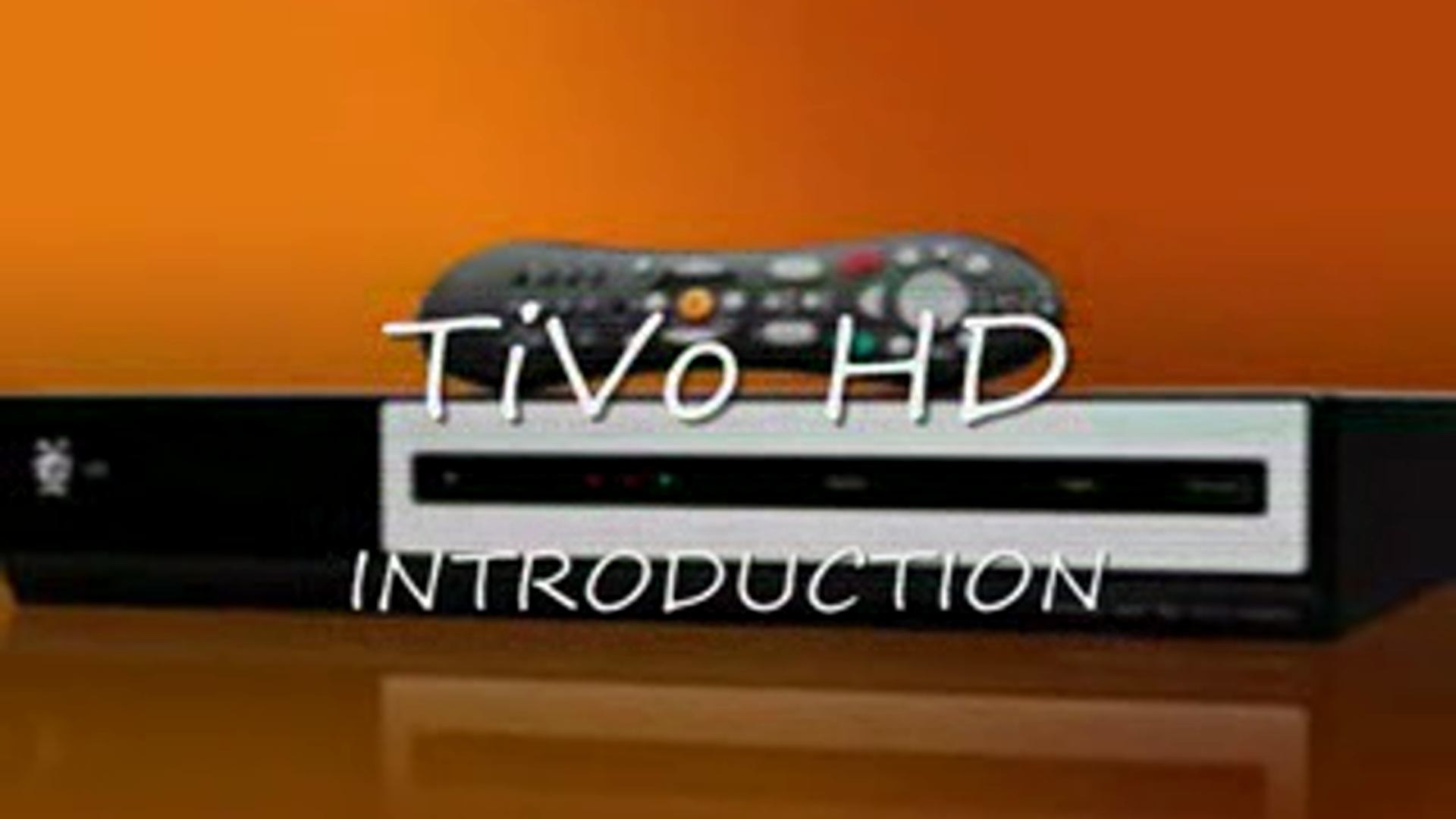 Customer Review: TiVo HD - Complete, Hands On Video Review See full review