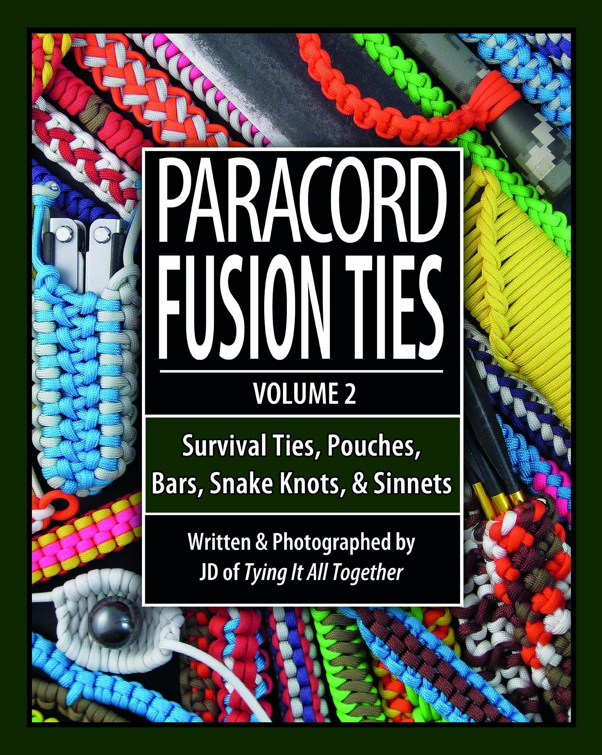 скачать книгу paracord fusion ties