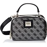Guess Womens Cross-Body Handbag, Black - SG766870