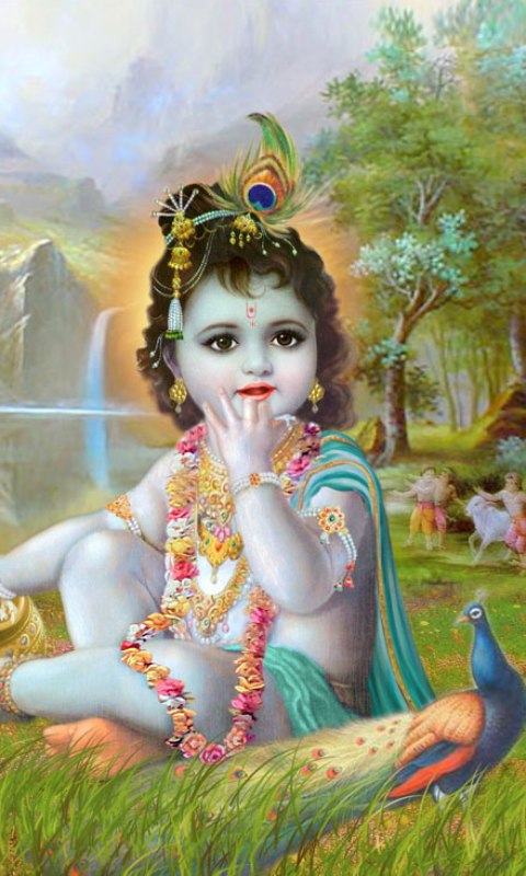 Amazon com: Baby Krishna Live Wallpaper: Appstore for Android