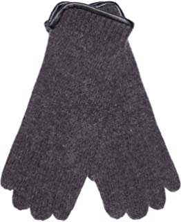 y made in scotland caliente de lana Suave mens lana invierno guantes Lovarzi