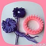 KnitUK Flower Loom (9cm): 20 pegs