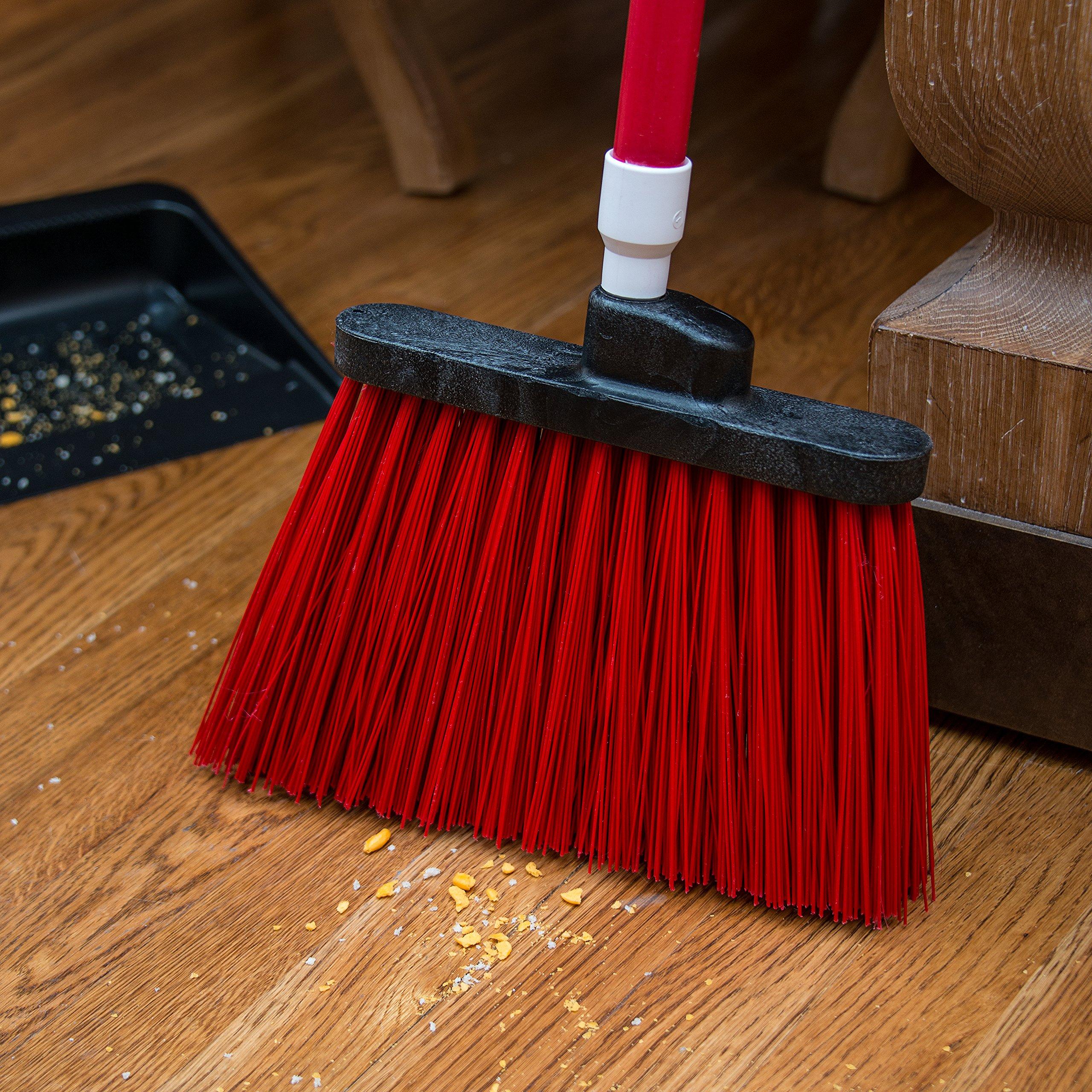 Carlisle 3686805 Duo-Sweep UnFlagged Angle Broom Head, 8'', Red by Carlisle (Image #5)