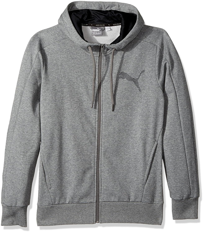 dfc0feab PUMA Men's P48 Core Full Zip Hoody Fleece