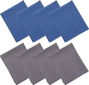 6 Pack Laptop Computer Screen iPad and more. Progo Ultra Absorbent Microfiber Cleaning Cloths for LCD//LED TV iPhone