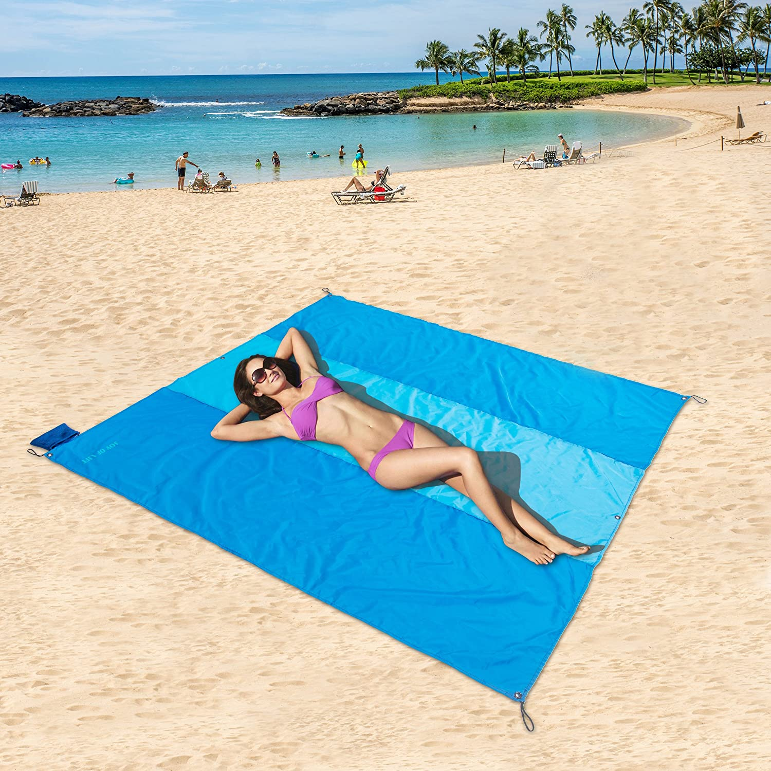 campervan gifts - sand free towel