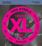 D'Addario ダダリオ ベース弦 プロスティール Long Scale .045-.100 EPS170 【国内正規品】