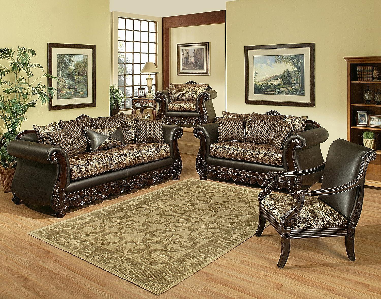 Alpen Ridge Brown Living Room Collection