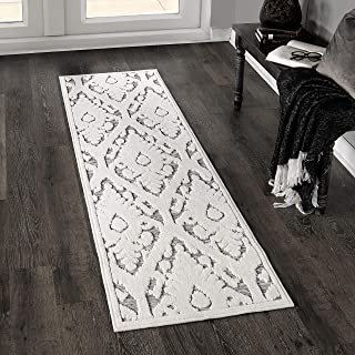 "product image for Orian Rugs Salvador Rug, 1'11"" x 7'6"", Natural Ivory/Grey"