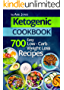Ketogenic Diet: 700 Easy Low-Carb Weight Loss Recipes (The Complete Beginners Cookbook Guide With Meal Plan) (English Edition)