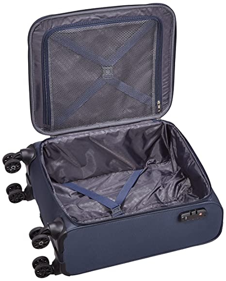 Amazon.com | American Tourister Summer Voyager Spinner Hand Luggage, 55 cm, 36 Liters, Midnight Blue | Carry-Ons