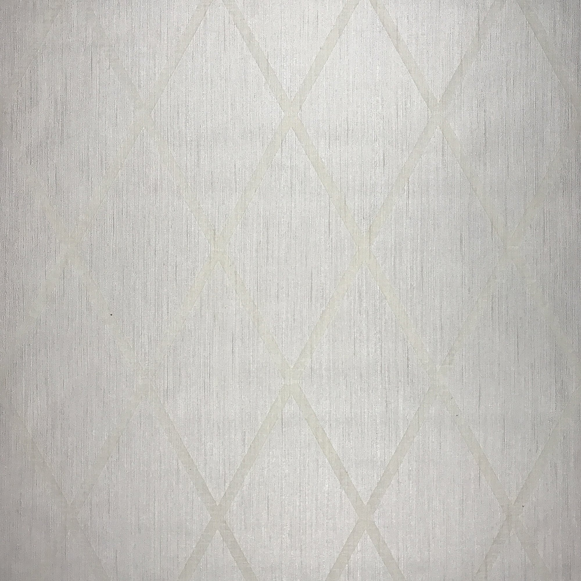 76 sq.ft Rolls Portofino Textured wallcoverings Modern Flock Embossed Vinyl Non-Woven Wallpaper Ivory Cream Pearl Gold Metallic Diamond Flocked Lines Velvet Textures Geometric Contemporary Velour 3D