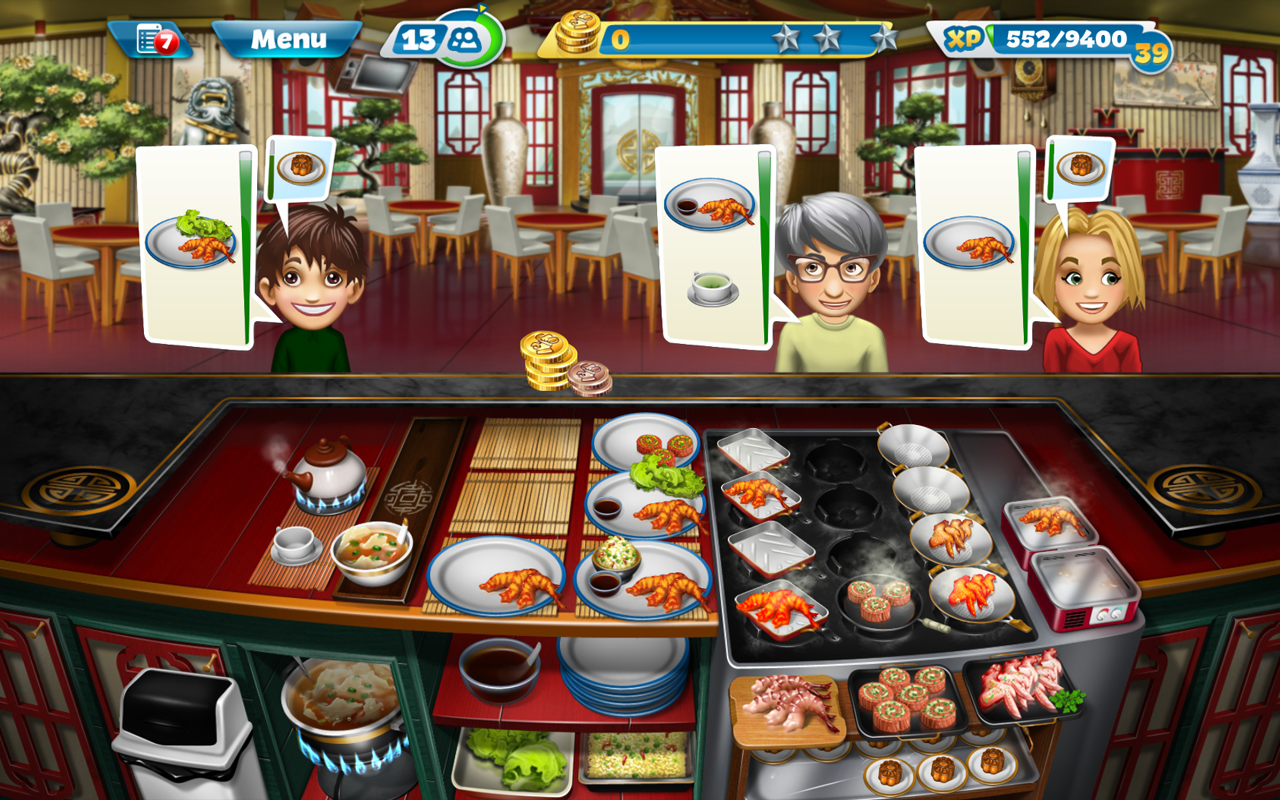 Cooking Fever Import It All
