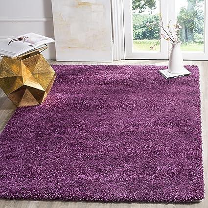Charmant Safavieh California Premium Shag Collection SG151 7373 Purple Area Rug (8u0027  X 10