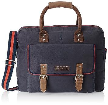 4ea1383cb9 Fastrack Canvas Blue Messenger Bag (A0417CBL01)  Amazon.in  Bags ...