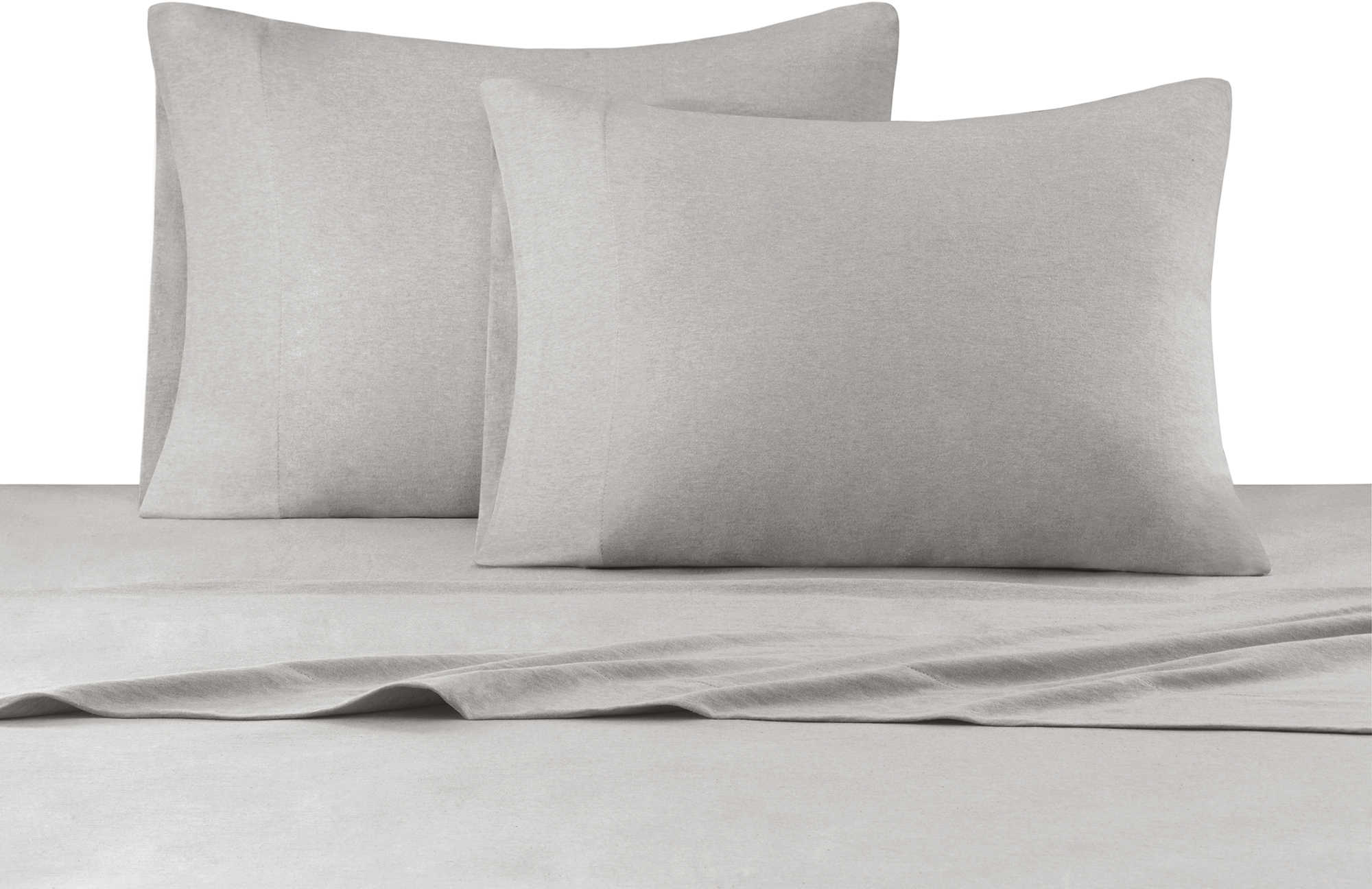 INK+IVY Heathered Cotton Jersey Knit Sheet Set - Bed Bath & Beyond