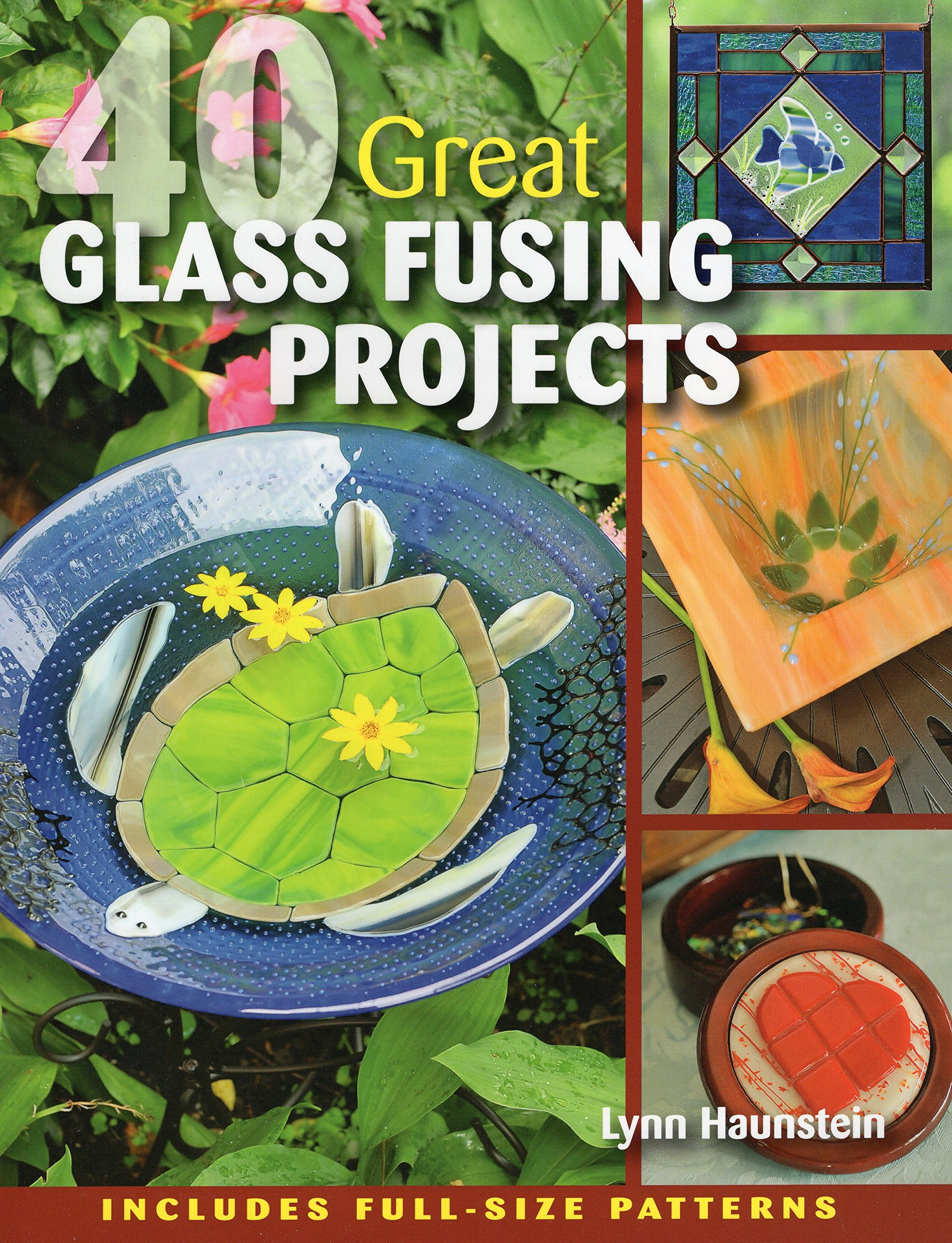 Amazoncom 40 Great Glass Fusing Projects 0011557012347 Lynn