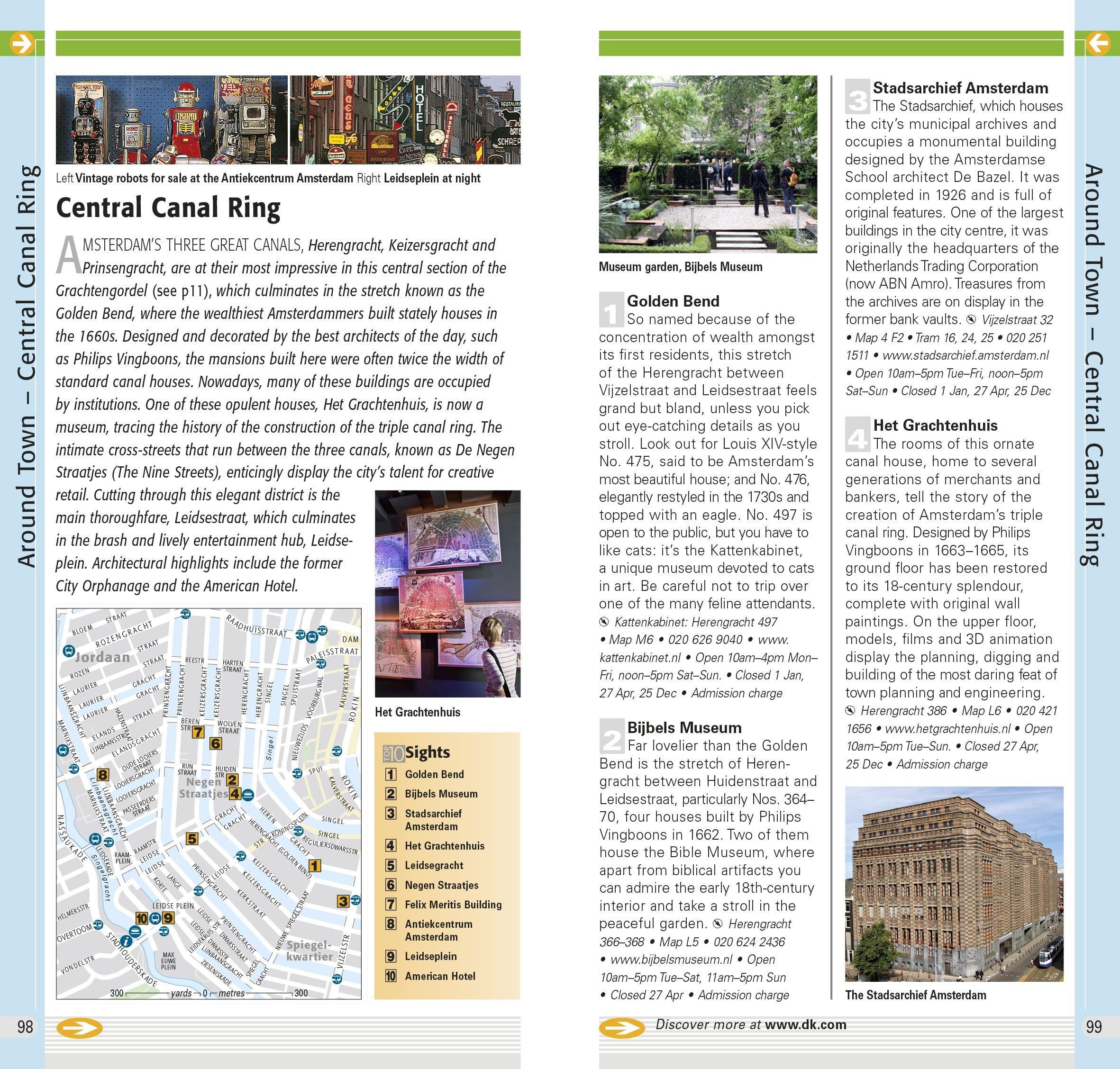 DK Eyewitness Top 10 Travel Guide: Amsterdam: Leonie Glass: 9781409355045:  Amazon.com: Books