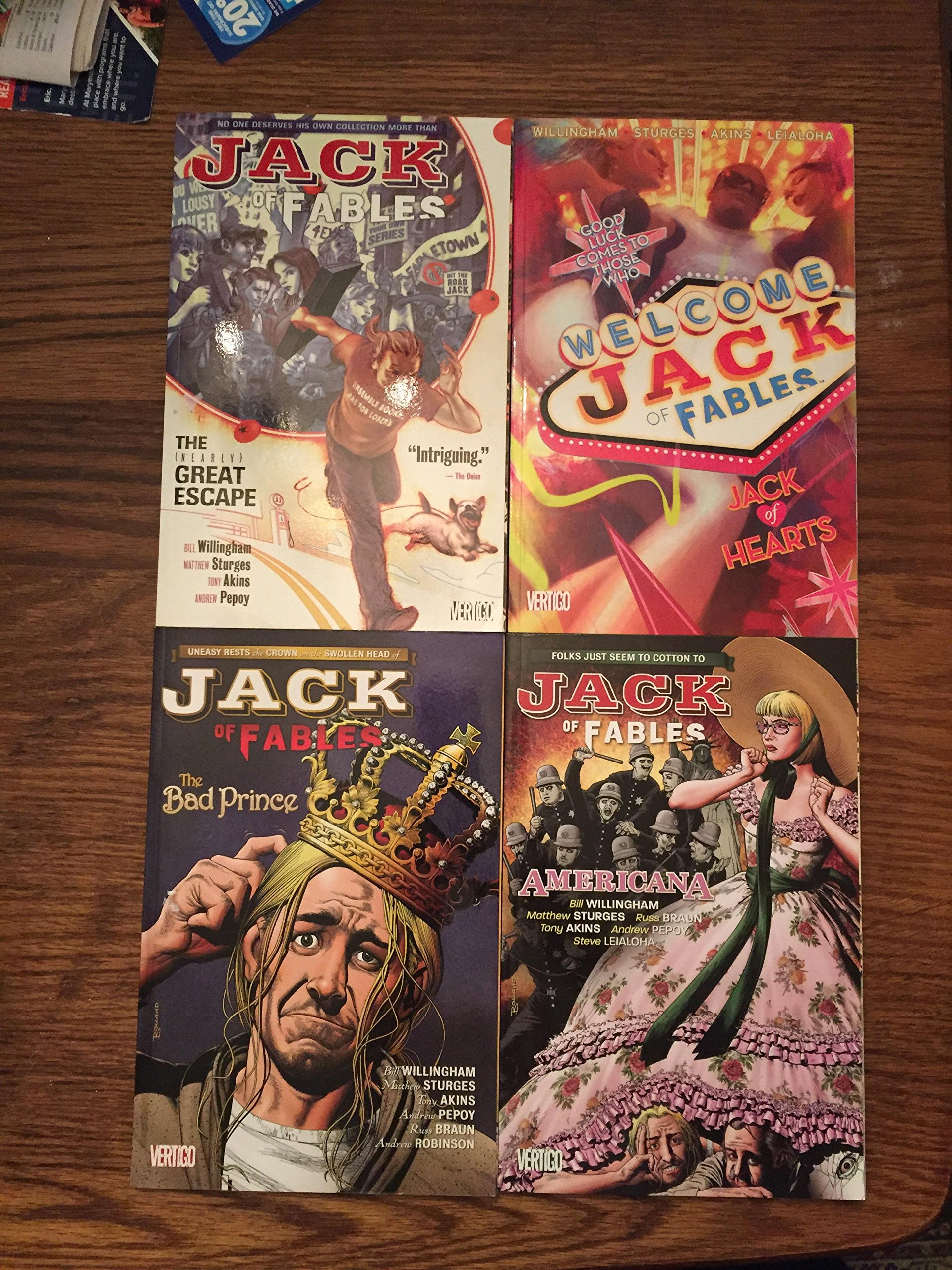 Jack Fables Hearts Prince Americana