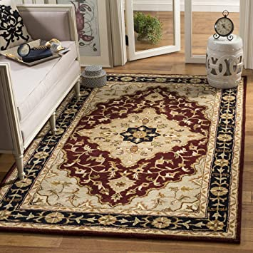 Amazon Safavieh Heritage Collection Hg760b Handcrafted