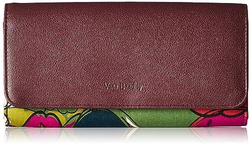 Vera Bradley Audrey RFID cartera, firma algodón: Amazon.es ...