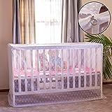 Artistic Baby Mosquito Net for Crib, with Bonus