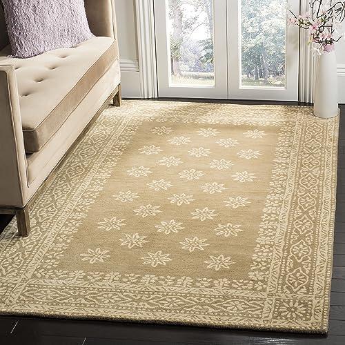 Safavieh Martha Stewart Collection MSR4538C Handmade Premium Wool Spud Area Rug 8 x 10