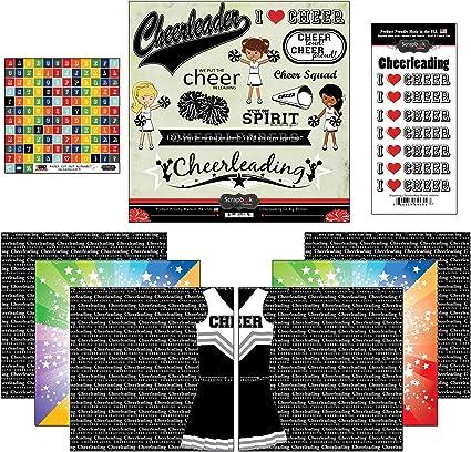 Cheer Life Scrapbook Customs Themed Paper Scrapbook Kit