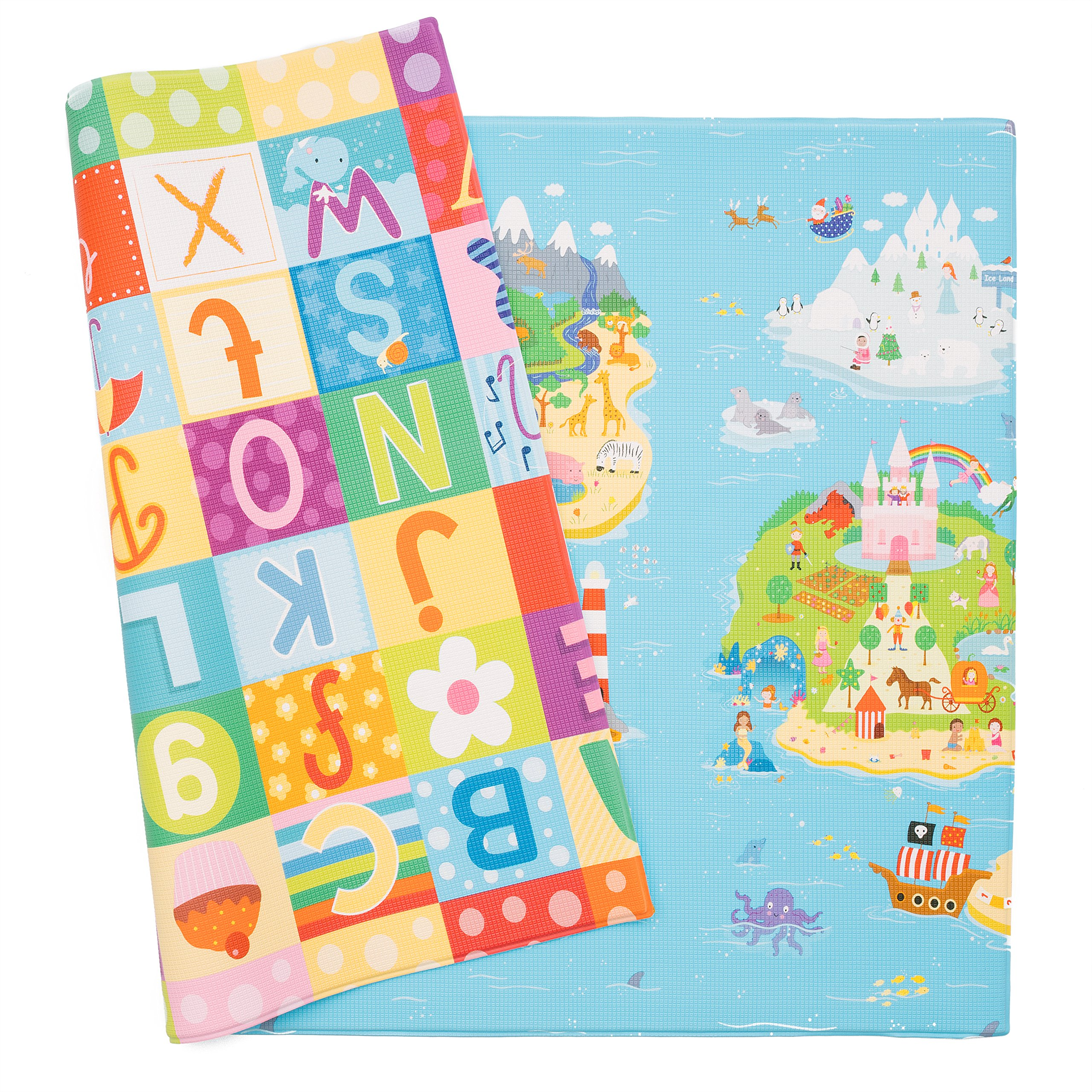 Baby Care Play Mat - Magical Islands (Large)
