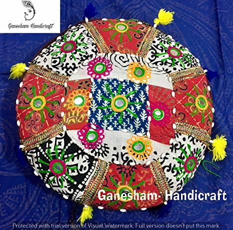 Amazon.com: Indian Patchwork bordados a mano espejo Trabajo ...