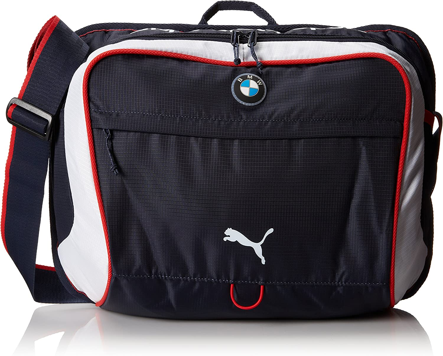 Amazon.com: PUMA Men's BMW Motorsport Messenger Bag, Blue ...