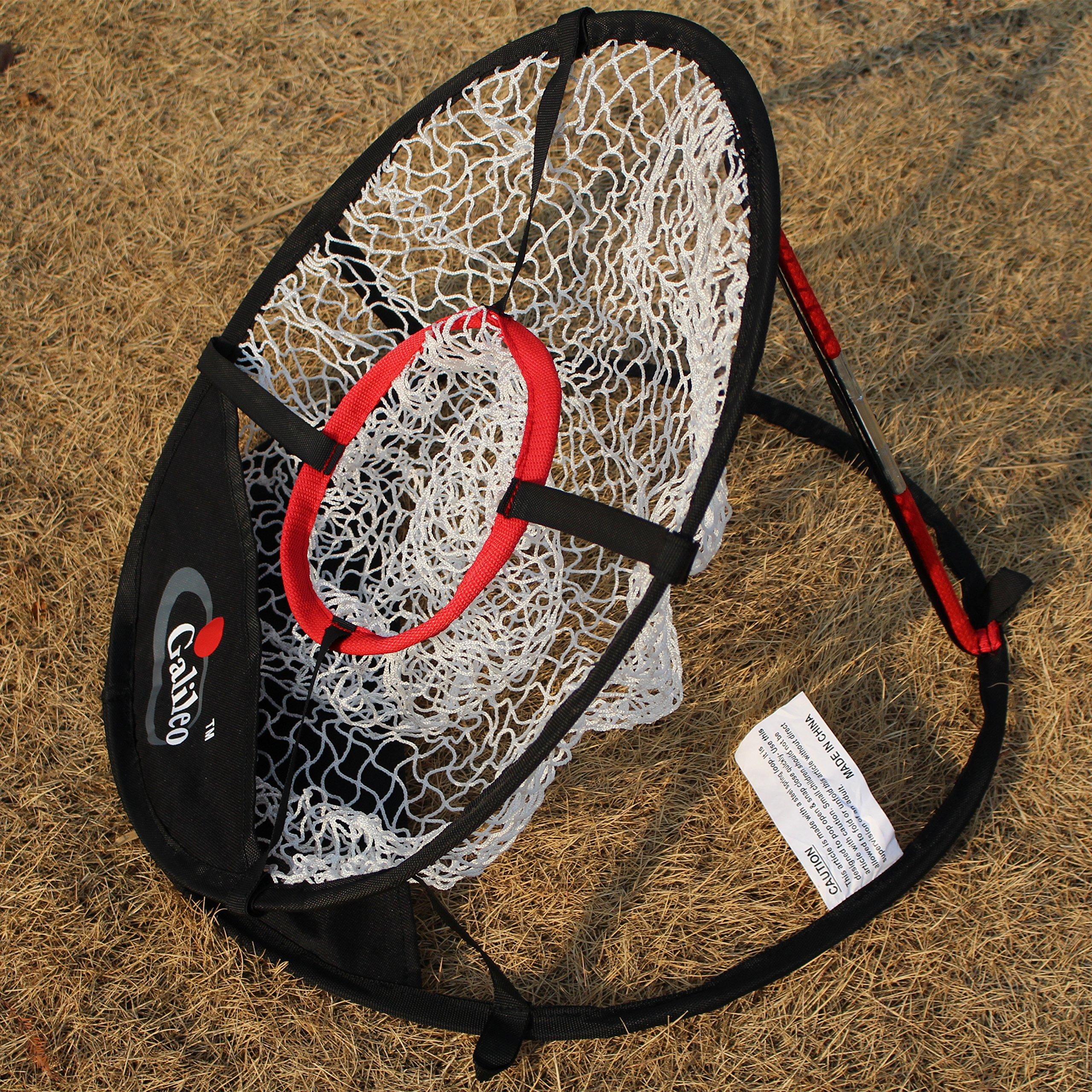 Golf net with Target net Diameter 50cm ' Pop Up Golf Chipping Net | Outdoor & Indoor Golfing Target Accessories and Backyard Practice Swing Game