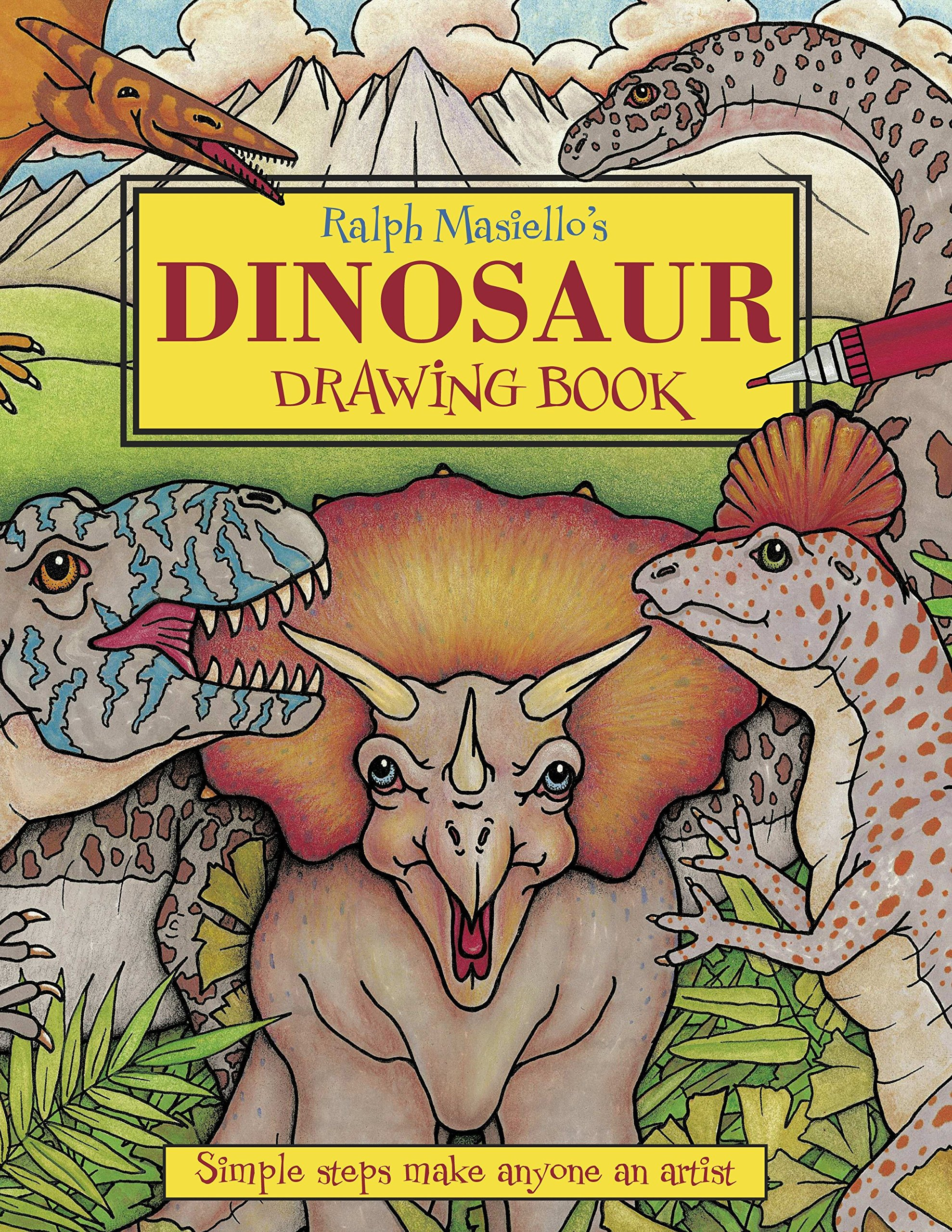 Ralph Masiello's Dinosaur Drawing Book (Ralph Masiello's Drawing Books) Paperback – July 1, 2005 Charlesbridge 1570915288 JNF006020 Dinosaurs in art