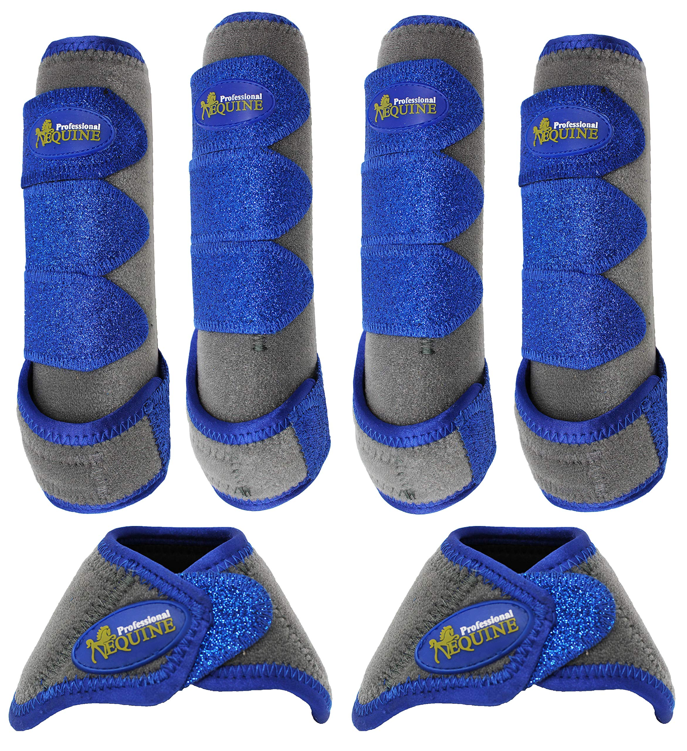 Professional Equine Horse Sports Medicine Splint NoTurn Boots Bell 4130D by Professional Equine (Image #1)