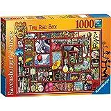 Ravensburger - La caja roja, puzzle de 1000 piezas (19398 1)