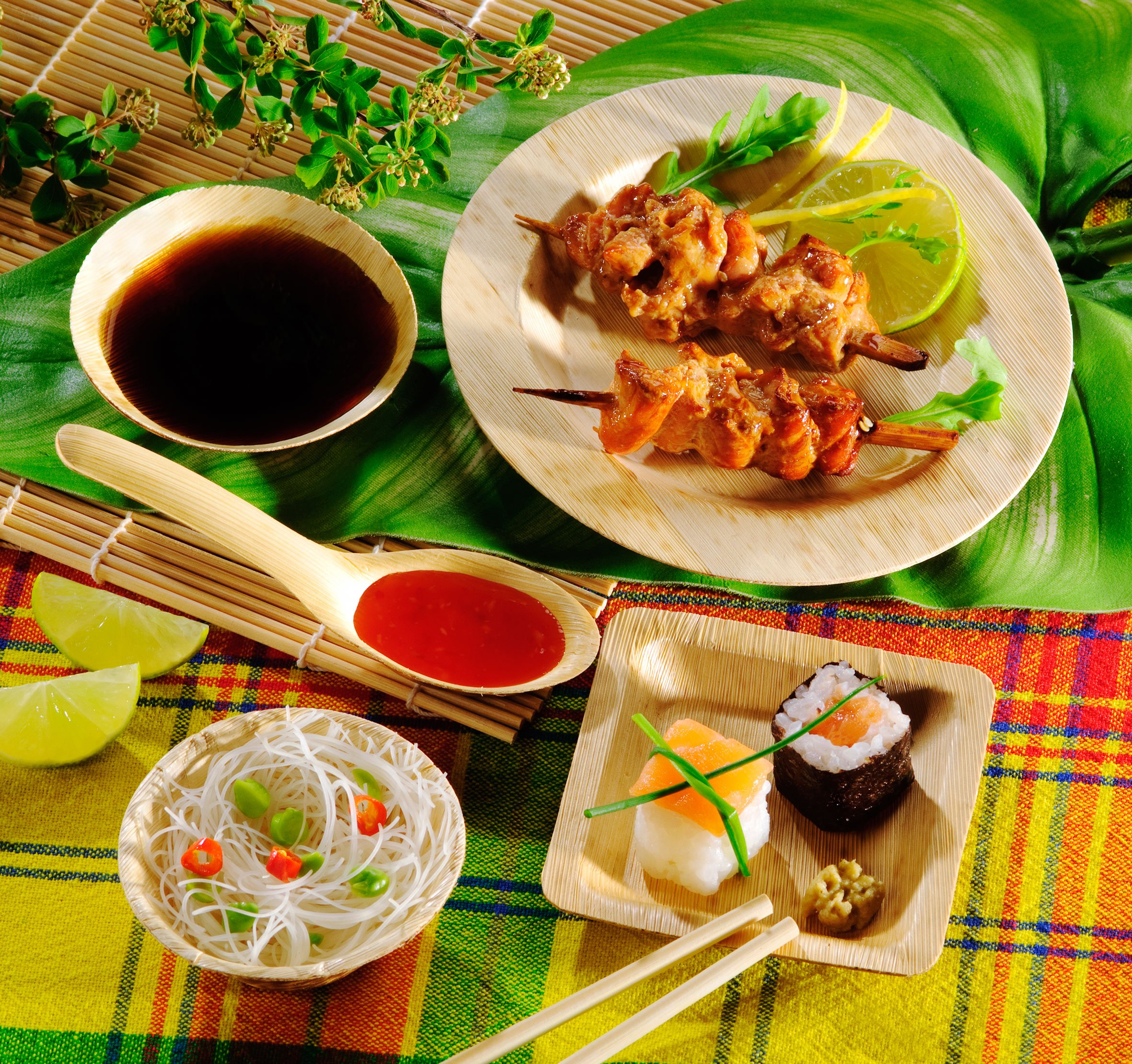 PackNWood 210BBOUSPOON Bamboo Leaf Tasting Spoon - 0.25 oz - 5.12'' - 1000 per case
