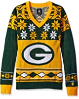 Amazon.com: NFL Busy Block Ugly Sweaters by Forever Collectibles ...