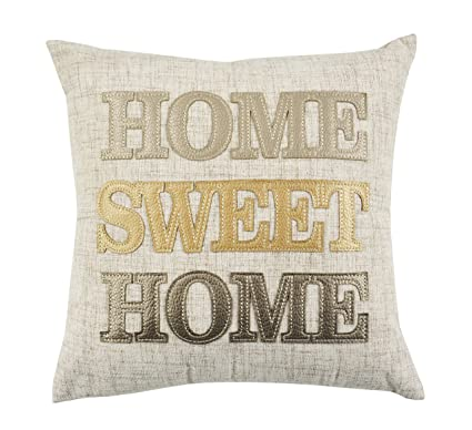 Comfy Hour 14u0026quot;x14u0026quot; Home Sweet Home Accent Pillow Throw Pillow ...