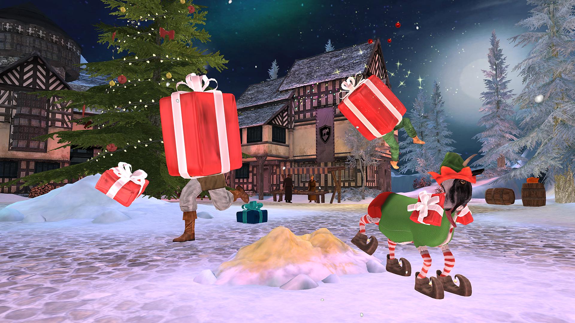 Christmas Shopper Simulator Apk.Goat Simulator Mmo Simulator