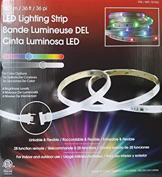 Tape Light, 36 Foot Tape Light. 3 12 Foot Lengths