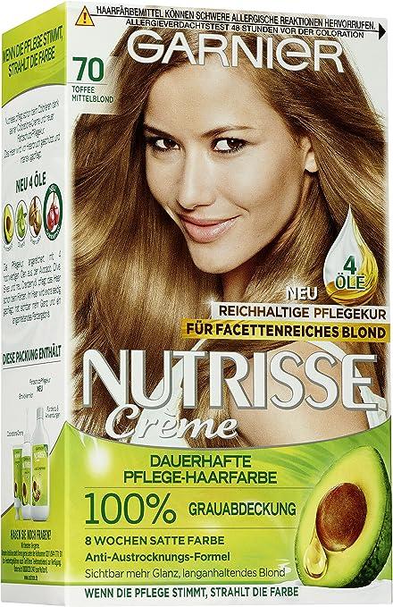 Garnier Nutrisse crema de coloracion, Rubio medio ,1 unidad ...