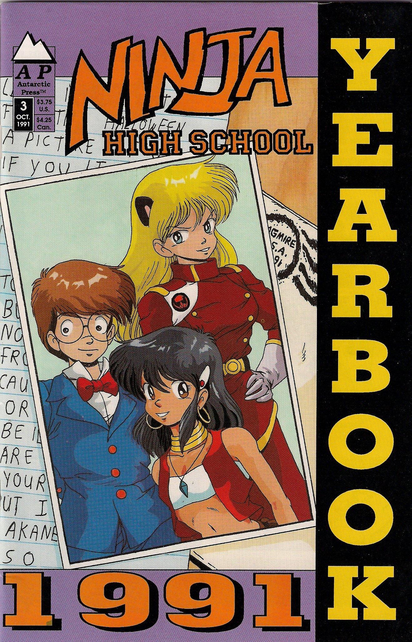 NINJA HIGH SCHOOL NO. 3 YEARBOOK MANGA ANTARCTIC PRESS ...