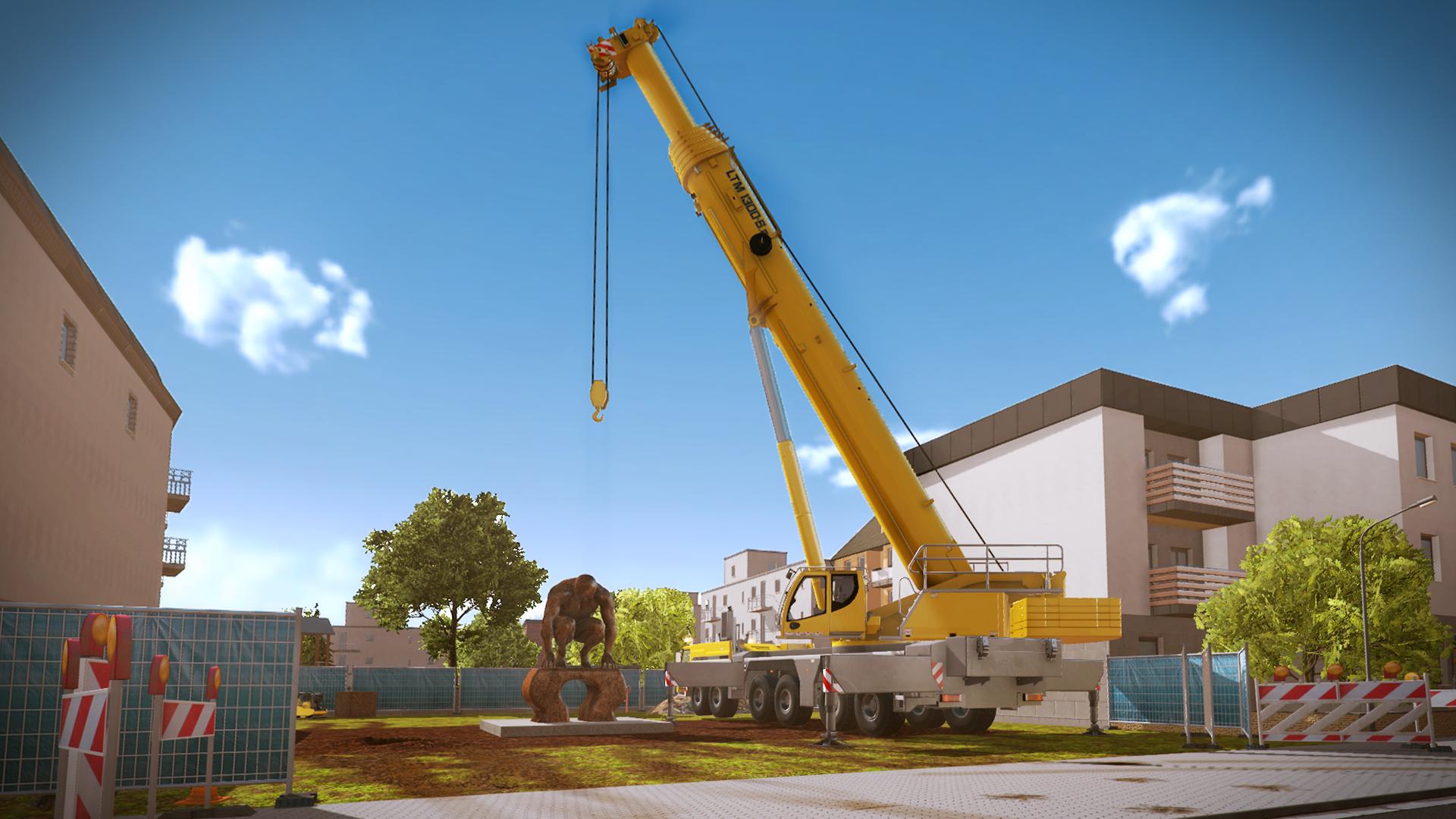 Amazon com: Construction Simulator 2015: Liebherr LTM 1300