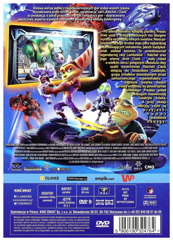 Ratchet and Clank DVD IMPORT No hay versi243;n espa241;ola: Amazon.es: James Arnold Taylor, David Kaye, Jim Ward, Sylvester Stallone, Bella Thorne, ...